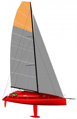 Class 40 sailboat plans ~ Fibre boat
